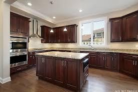 stain kitchen cabinet finish