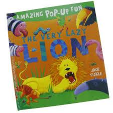 bolehdeals early childhood education kids story book 3d pop up books hardcover lion