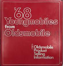 1968 olds cutlass 442 f85 wiring diagram manual reprint 1968 oldsmobile data book original 249 00