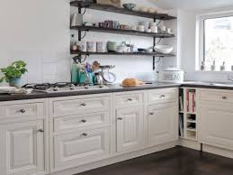 Kitchens With Open Shelving Storage Room Design Country Kitchens With Open Shelving Ideas