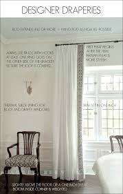 designer dries window treatments