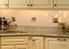 For Kitchen Tiles Top Charming Design Ideas Using Cream Tile Backsplash And