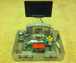 how to make a portable nintendo 64 steps 8 steps pictures