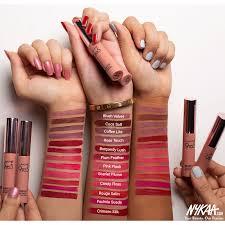lakme 9 to 5 weightless matte mousse lip cheek color burgundy lush at nykaa