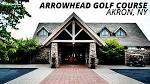 Golfing at Arrowhead Golf Club in Akron, NY - YouTube