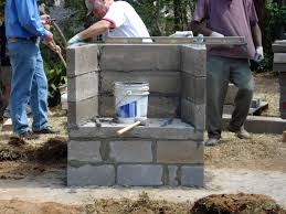building a simple outdoor fireplace designs