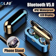<b>Olaf</b> F9 <b>Wireless Headphones</b> Bluetooth 5.0 <b>Earphones</b> TWS ...