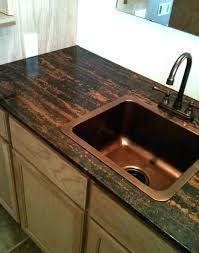 diy countertop resurface metallic zebra copper metallic customer installs of our resurfacing kits diy countertop resurface