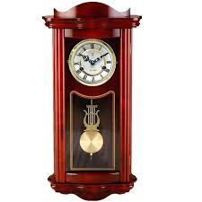 modern pendulum wall clock solid wood modern pendulum clock wall clock antique clock mechanical clock modern pendulum wall clock