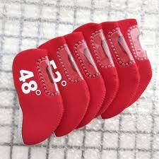 <b>6pcs</b> Neoprene <b>Golf Wedge</b> Iron Cover <b>Wedge</b> club <b>head covers</b> ...