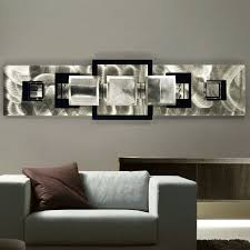 black and silver wall decor ideas
