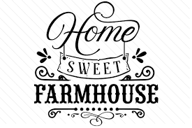 This home sweet home svg design is a set of digital files only, which you will be able to download immediately upon clearance of your payment. Home Sweet Farmhouse Svg Cut Files Download Free Svg Files Creative Fabrica