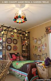 amazing easy diy home decor ideas bed canopy