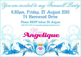 sle invitation for send off party new sle invitation wording farewell party new invitation letter for