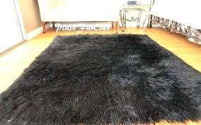 fur rug faux sheepskin new 8 x plush black mongolian blush natural long hair lambskin cream grey faux fur rug