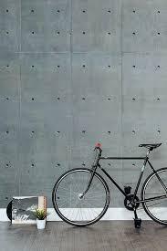 kids room faux concrete wall tiles