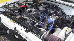 Nissan Patrol TD42 Top-mount Billet turbo kit - YouTube