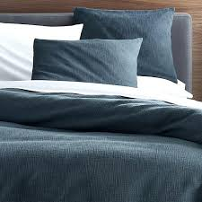 crate and barrel bedding duvet covers crate and barrel exclusive blue duvet covers and pillow shams