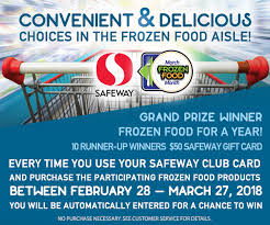 frozen food at safeway win