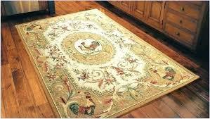kitchen rooster rug large