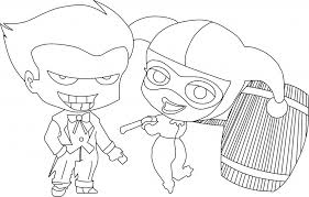 Small Picture Harley Quinn Coloring Pages Best Coloring Pages For Kids