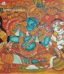my... - Babeesh Anela Kerala Traditional Mural painting Artist | Facebook
