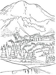 mountain lion coloring pages mountain lion coloring page mountain coloring page mountains coloring pages west mountain