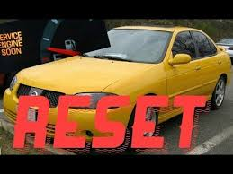 How to reset Service Engine soon Light on a 2006 Nissan Sentra ...