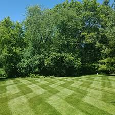 Mowing Patterns Simple Lawn Striping and Lawn Patterns Scag Power Equipment