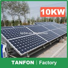Price For Solar Mounting System Kw Kw Kw  Solar Panel - Home solar power system design