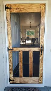The Best Diy Screen Door Ideas And Outdoor Decor Of How To Build A ...
