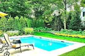 impressive small pools inground small fiberglass