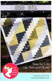 It's Sew Emma Quilt Pattern - HIGH RISE – Jordan Fabrics & It's Sew Emma Quilt Pattern - HIGH RISE Adamdwight.com