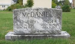 James Wesley McDaniel (1903-1966) - Find A Grave Memorial