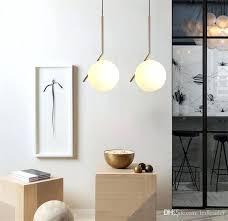 glass light pendants modern minimalist pendant light lamp glass ball lamp home clothing ceiling decoration for