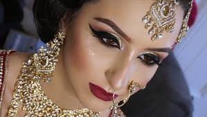 2016 real bride asian bridal makeup traditional signature look