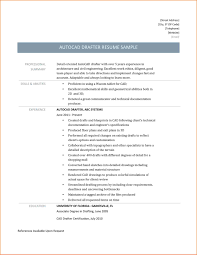 Delighted Autocad Draftsman Cv Sample Gallery Example Resume And