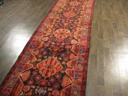 persian wool handmade rug antique carpet 15 x3 ft rugs