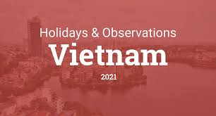 Holidays and observances in Vietnam in 2021