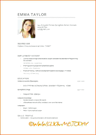 Model Of A Resume Model Resume Template This Is Model Resume Sample