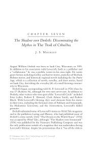 the shadow over derleth disseminating the mythos in the trail of new critical essays on h p lovecraft new critical essays on h p lovecraft