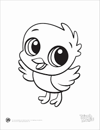 Cute Baby Animal Coloring Pages To Print Cute Baby Animal Coloring