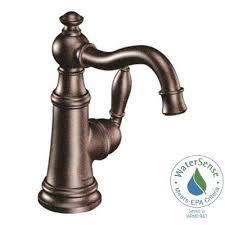 oil bronze bathroom faucets single hole 1 handle high arc bathroom faucet in oil rubbed bronze