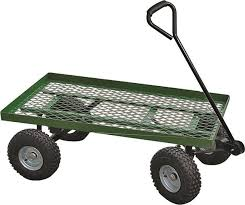 garden cart vulcan ytl22114 garden carts cart garden flt bed mesh 38 x20 contemporary wheelbarrows and garden carts by ktm ventures inc