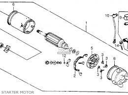 honda vt500ft ascot 1984 e usa california parts lists and schematics honda vt500ft ascot 1984 e usa california starter motor