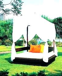 round outdoor daybed with canopy – gatei.co
