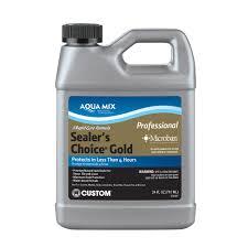 custom building s aqua mix sealer s choice gold 24 oz penetrating sealer