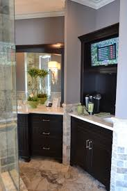 small tv for bathroom. Morning Kitchen With Small Tv. If We Place Design A Drawer Microwave, Can Tv On The Top Of Bar/kitchen For Bathroom B