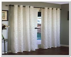 back to sliding glass door curtains