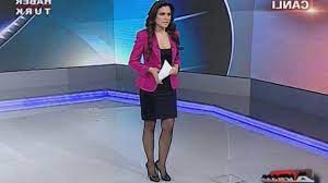 Ece Üner Beautiful Turkish Tv Presenter 14.03.2013 - YouTube